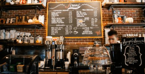 コーヒー専門店